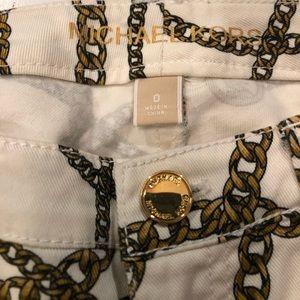 Michael Kors Jeans - SALE - Michael Kors patterned white jeans